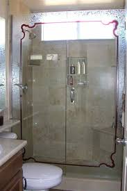 Decorative Shower Doors 98 Best Glass Shower Doors Images On Pinterest Glass Showers