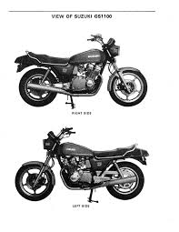 suzuki gs 1100 motorcycle repair manual 1979 1980 1981 1982 1983