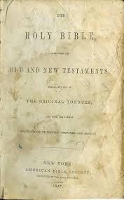 ellis samuel bowen bible