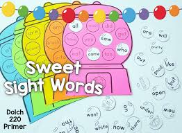 Room Dolch Word Games - kindergarten sight words game