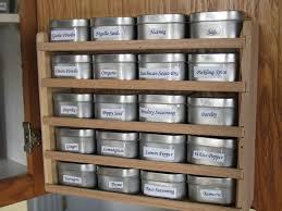 Diy Magnetic Spice Rack Spice Storage Jar Ideas Organize Your Kitchen With Spice Rack