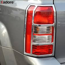 jeep back lights auto parts fit for jeep patriot 2007 2017 abs chrome rear back