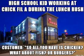 Chick Fil A Meme - just a liberal muslim girl working at chick fil a meme on imgur