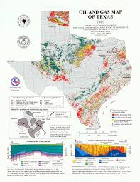 Tx County Map Texas Railroad Commission Districts And Oil And Gas Map Of Texas