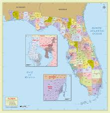 counties map buy florida zip code with counties map