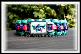 innovation ideas thyroid cancer bracelets survivor paracord bracelet