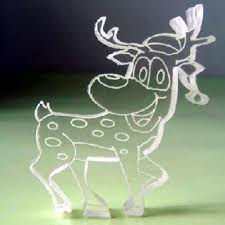 White Christmas Reindeer Decorations by Outdoor Reindeer Christmas Decorations Christmas Lights Decoration