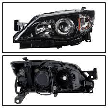 2008 subaru outback brake light bulb 14 subaru impreza wrx outback sport projector headlights black