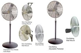 30 Oscillating Pedestal Fan Airmaster Fan Company 71586 Motion Industries