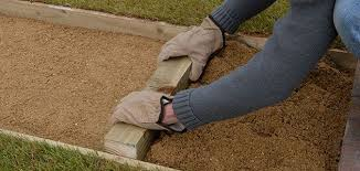 Laying Patio Slabs On Grass How To Lay A Garden Path Wickes Co Uk