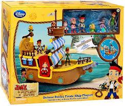 disney jake land pirates deluxe bucky pirate ship