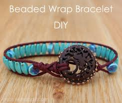 braided bead bracelet diy images Beaded wrap bracelet using blueberry cove beads how to bead a jpg