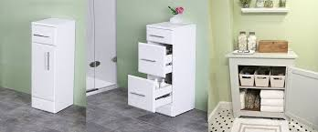 floorstanding u0026 slimline bathroom storage units qs supplies
