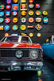 the gosford classic car museum is home to vibrant variety with so many classics more often than not hidden away in private garages around australia it s nice to finally see a large portion of them on public