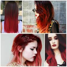 hair ideas for red ombre for 2017 new hair color ideas u0026 trends