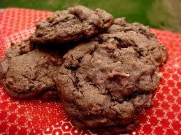 twelve days of christmas cookies german chocolate cake cookies