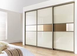 Installing Interior Sliding Doors Wardrobe With Doors How To Install A Sliding Door Track Mirror