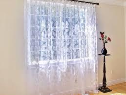 Sheer Off White Curtains Short Sheer Curtains White Home Design Ideas
