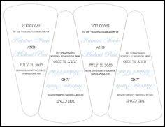 Fan Wedding Program Template Fan Invitation Template Themesflip Com