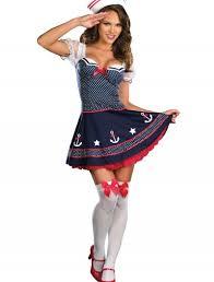 Halloween Costume Polka Dot Dress Ruffled Sailor Dress Costume Halloween Costumes