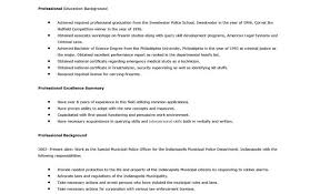 cover letter for police officer chief of police cover letter the
