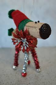 155 best wine cork reindeer images on reindeer