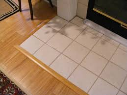 Laminate Floor To Tile Transition Transition Tile To Laminate Floor Wood Floors