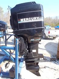 6m1322 1993 used mercury 100elpto 100hp 2 stroke remote outboard