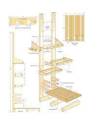 Free Shelf Woodworking Plans by Diy Mission Woodworking Plans Free Arafen