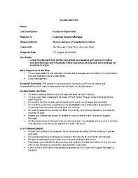 Assistant Food And Beverage Manager Resume Merchandiser Job Description Electrical Supervisor Resume