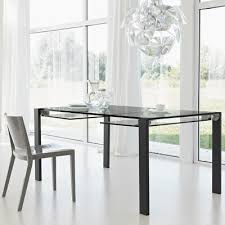 Black Glass Extending Dining Table Livingstone 140cm Black Glass Extending Dining Table