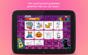 make my own coloring book halloween coloring book android apps on google play