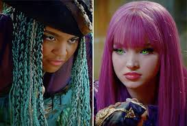 mal hair video watch descendants 2 trailer first look at mal vs uma