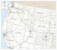 map usa northwest free printable maps of the northwestern us map usa