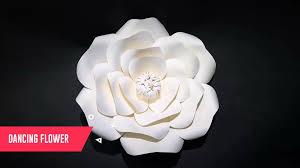 beautiful deep colour big artificial wall flower foam paper flower