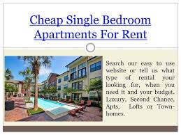 Cheap Single Bedroom Apartments For Rent by Ppt Apartments For Rent Near Me No Credit Check Powerpoint
