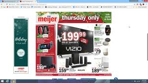 meijer thanksgiving ad for 2017 and meijer black friday ad for