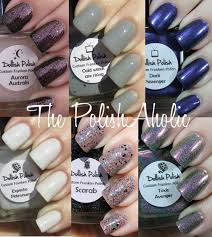 the polishaholic dollish polish swatches