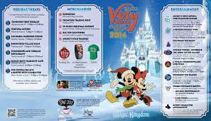 photos mickey u0027s very merry christmas party guide map