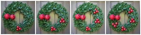 easy diy christmas wreath with lantern 2 bees in a pod
