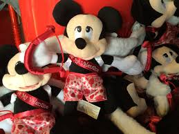 mickey mouse s day mickey mouse plush valentines day cupid kimandcarrie