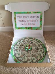wedding money gift ideas a money pizza for the graduate what a idea gift ideas