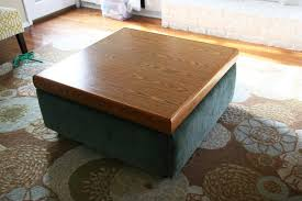 Diy Large Coffee Table by Coffee Table Turn An Ugly Coffee Table Into Diy Ottoman Homemade