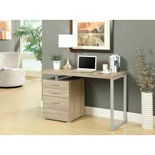 Monarch Computer Desk Monarch Specialties Taupe Desk With File Cabinet I 7326 The