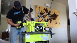 ryobi portable table saw un boxing and assembly youtube