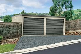 how to paint a metal garage door flat roof shed stratco