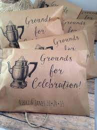 coffee wedding favors 15 awesome wedding favors superior celebrations
