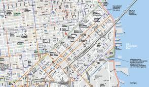 San Francisco Bike Map by David Baker Architects Great Second Street