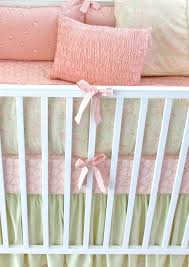 Pink And Green Crib Bedding Baby Crib Bedding L Pink Green Baby Bedding Shop For High