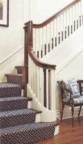 acanthus and acorn where should a stair runner end